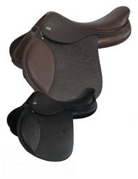 Harry Dabbs Platinum Flat Seat Jumping Saddle